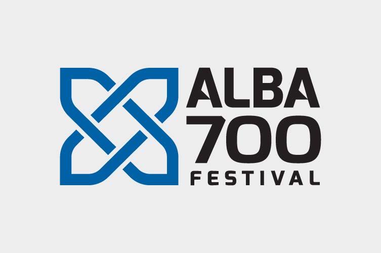 Alba 700 Festival Logo Design