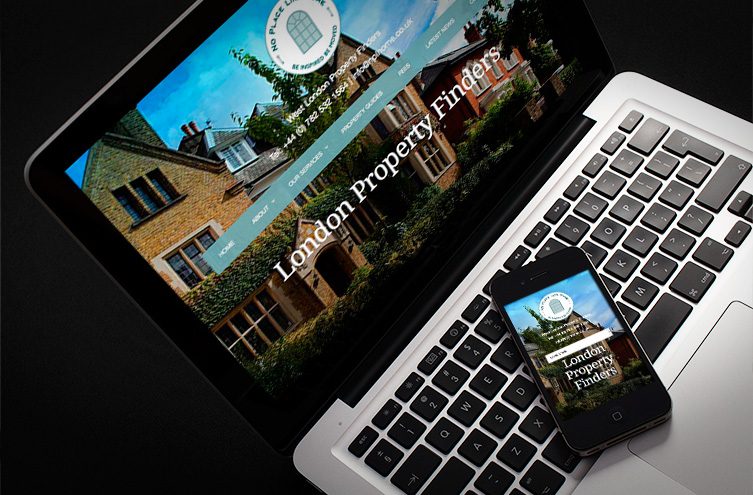 property finder web design