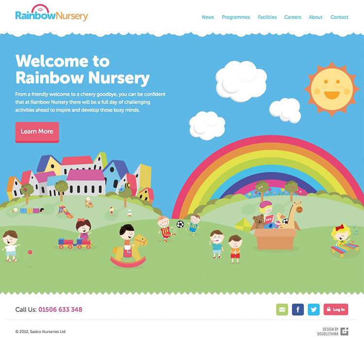 rainbow nursery homepage