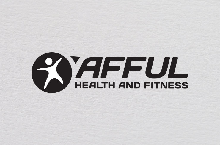 afful fitness logo black