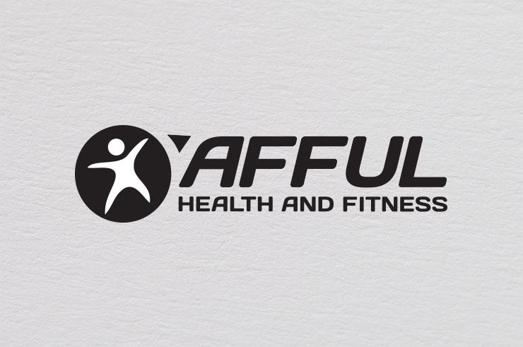 afful fitness logo black