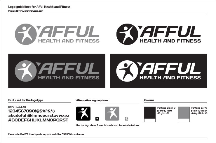 afful brand identity design guide