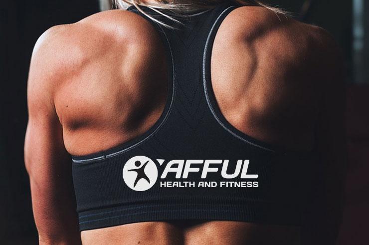 health & fitness logo design