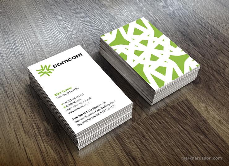 somcom business card