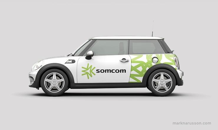somcom car branding