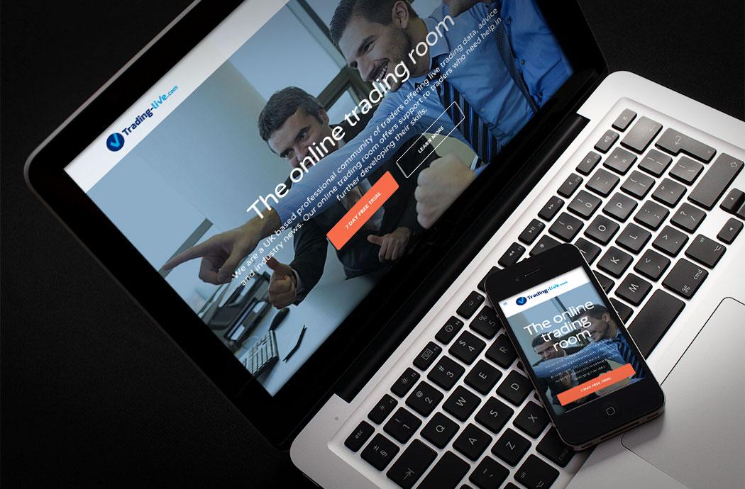trading live wordpress site
