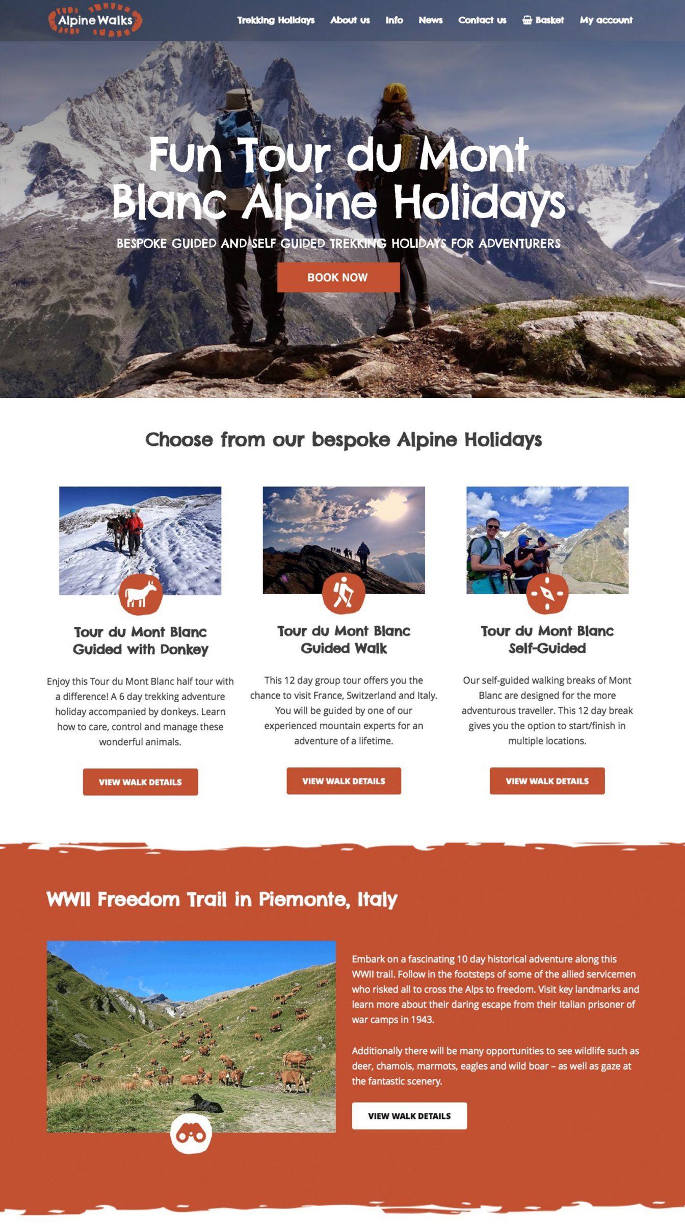 alpine walks site top