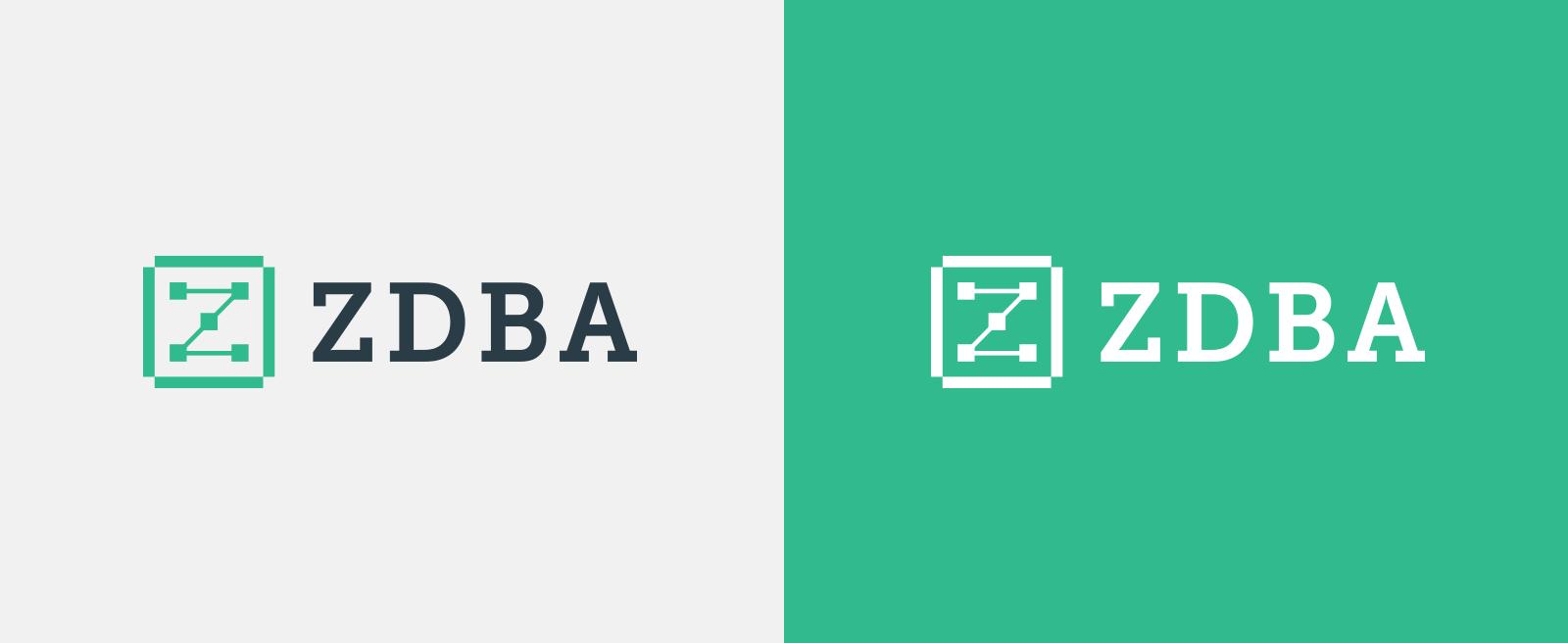 zdba logo versions