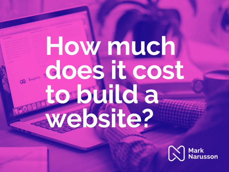 cost to build website