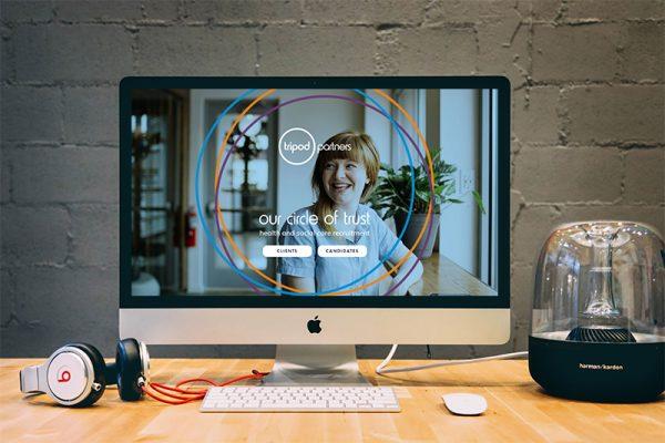 tripod iMac Mockup